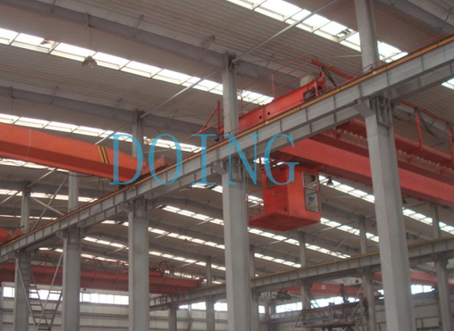6 sets overhead cranes for 45 ton