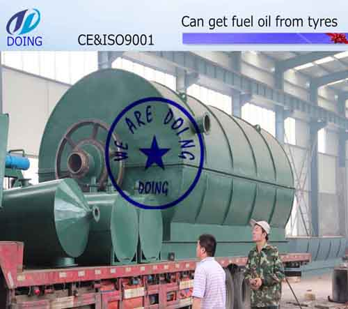 Used tyre pyrolysis machine