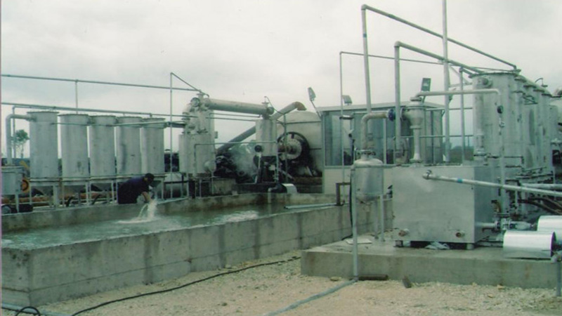 Waste tyre pyrolysis plants in Albania