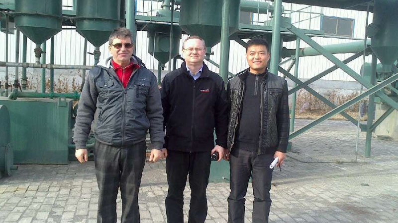 Waste plastic to oil pyrolysis plant in Slovakia