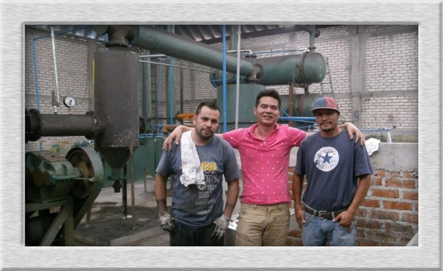 Convert waste tyre to fuel oil plant in Mexico