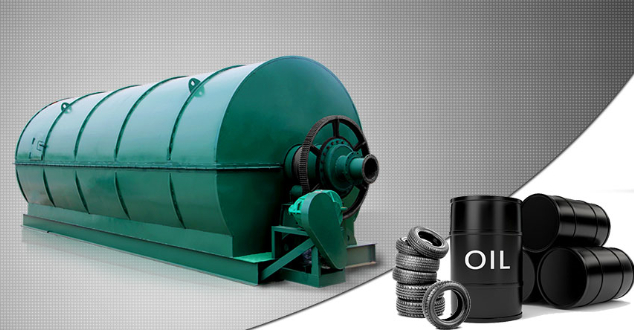 Tyre to oil pyrolysis plant project introduction in detail
