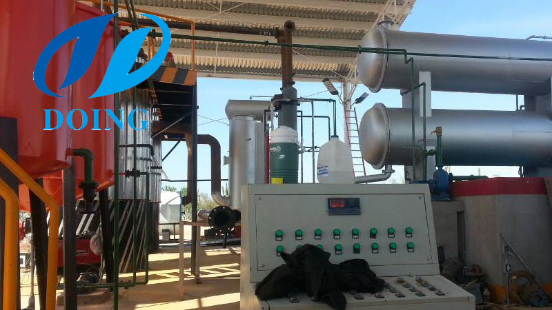waste oil distillation plant in mexico
