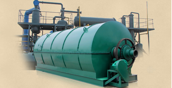 Running pyrolysis plant in Mexico video