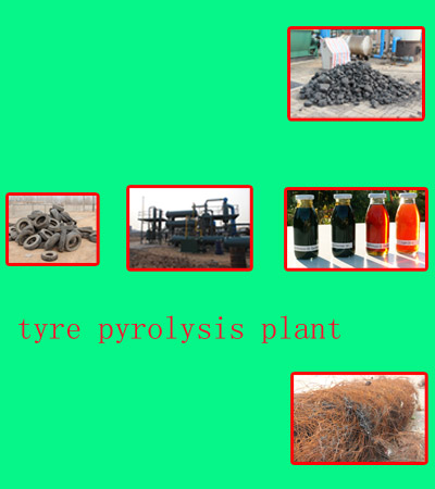 Final product of scrap tyre oil plant