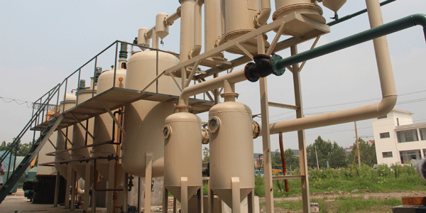 The Distillation Machine Installed in Lebanon