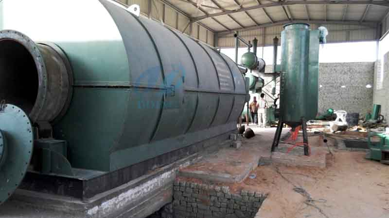 tyre pyrolysis process in Egypt