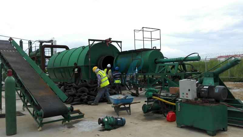 used tyre pyrolysis plant in Panama