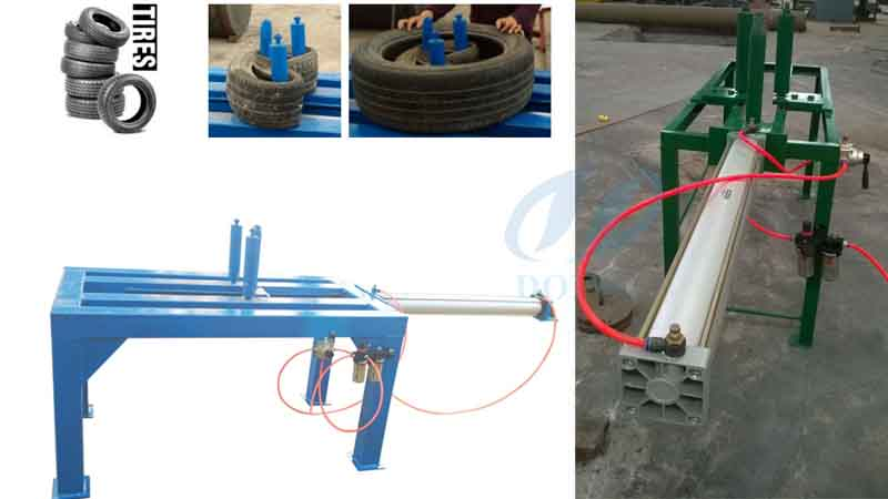 Tire doubling packing machine will delivery to Japan