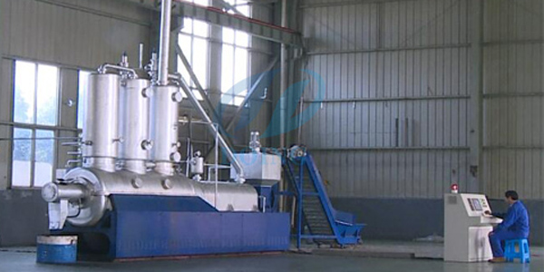 Fully automatic continuous waste plastic to diesel fuel oil pyrolysis plant