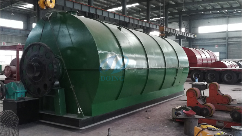 Waste tire recycling pyrolysis plant will be delivery to Panama