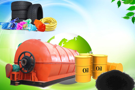 Tyre pyrolysis plant design