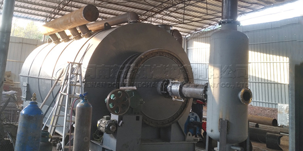 tyre pyrolysis plant project in australia