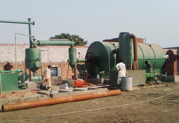 pyrolysis plant in Pakistan