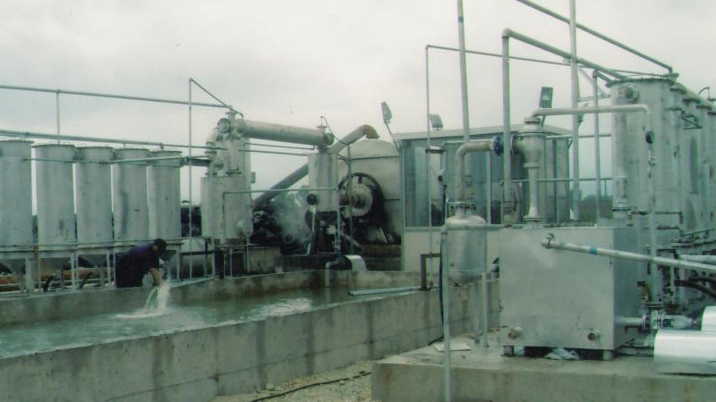 pyrolysis plant in albania