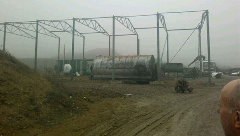 The waste tyre pyrolysis plants in macedonia