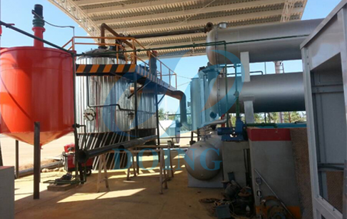 crude oil fractional distillation machine