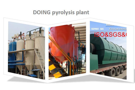 scrap plastic to oil pyrolysis plant