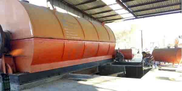 Mexico tyre recycling pyrolysis plant