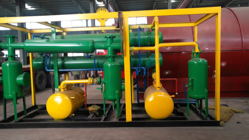 pyrolysis of plastic to oil machine