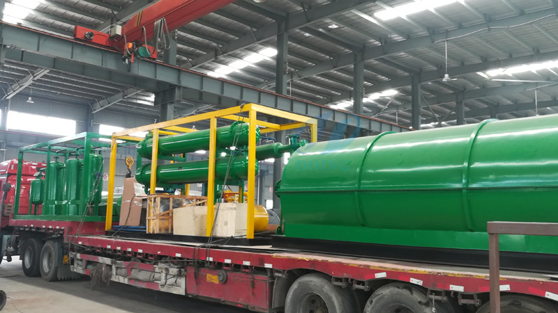 plastic pyrolysis machine